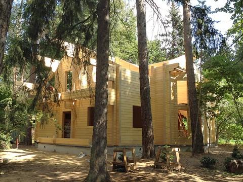 Cтроительство дома в Кратово